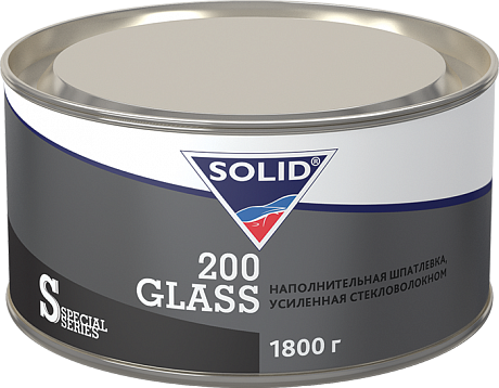 SOLID 200 GLAS шпатлевка 1.8 кг